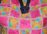 Custom Baby Car Seat Rag Quilt Cover - You Pick Design, Colors, Theme