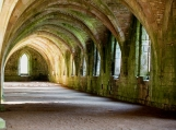 Ruins of Fountains Abbey, UK, Photo Print 8' x 6'
