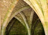 Walls of Fountains Abbey, UK, Photo Print 8' x 6'