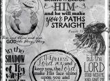 """Give God the Glory"" Digi Image and Word Art Set"