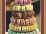 Tower Of Macarons Cross Stitch Pattern