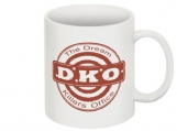 DKO logo mug red