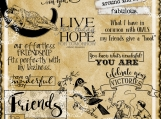 Medley of Sayings 3a Word art and Image Set