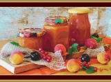 Apricot Jam Cross Stitch Pattern
