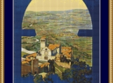 Assisi Cross Stitch Pattern