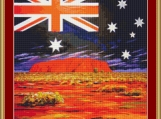 Australia Cross Stitch Pattern
