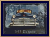 1947 Chrysler Cross Stitch Pattern