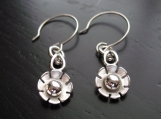 Flower Link Earrings