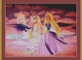 Princess And Pegasus Cross Stitch Pattern
