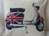 Scooter II Tapestry Cushion Cover