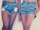 BFF- best friends for ever shorts - 2 shorts