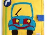 Busy Book, Quiet Book, Adventure Book, Educational Soft Book CAR