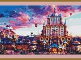 Fairy Tale Castle Cross Stitch Pattern