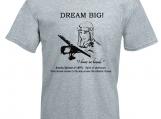 Inspiring Men's T-Shirt, Dream big, Amelia Earhart, Pilot Shirt