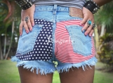 Levis stars and stripes