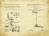 Dentistry Patent Art Duo-U.S. Shipping Included