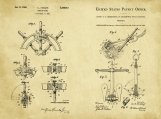Nautical II Patent Art Duo-U.S. Shipping Included