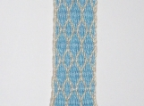 Net on Light Blue Bookmark