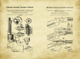Old West Patent Art Duo-U.S. Shipping Included