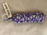 Purple Heart King Cobra Keychain