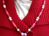 Sacred Heart Bead Necklace