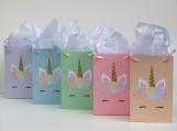 10 Unicorn Favor Bag,Unicorn Treat Bag,Unicorn Girls Birthday