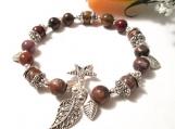 African Opal Bracelet, African Opal Beads, African Opal Jewelry,