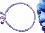 Angelite Ankle Bracelet, Anklet Bracelet for Women, Blue Anklet