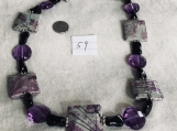 Necklace Purple