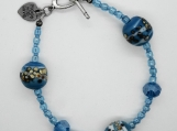 Ocean Bubbles Beaded Bracelet