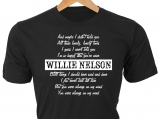 Always on my mind  Willie Nelson T-Shirt