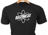 Bazinga! T-Shirt, from Sheldon on Big Bang Theory