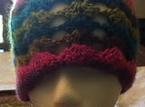 Bright Colors Crochet Beanies (includes a free gift)