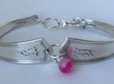 Deerfield 1913 Spoon Bracelet/Banded Agate