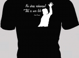 No Dress Rehearsal, This is Our Life ~ song lyrics on a T-Shirt