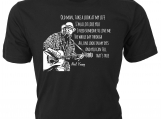 """Old Man Take a Look at My Life� � Neil Young lyrics T-Shirt"