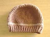 Chocolate / Beige Winter Hat