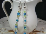 CZECHGLASS PRINCESS EARRINGS