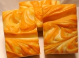 Earthy Rose Soap with Rose Absolute, Carrot Seed Oil, and Yogurt