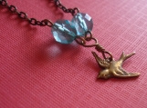 Fly Amongst The Clouds Necklace