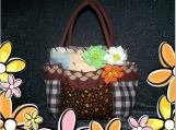 Late Hours Terra Primavera... HandBag Tote Purse Bag Spring Summer