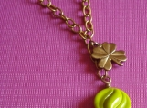 Luck of the Irish- Clover Necklace