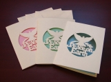 Peace Notecards with matching envelopes