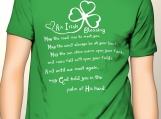 An Irish Blessing...May God hold you in the palm of His hand.