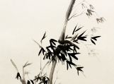 Chinese Hand Ink and water painitng ,Bamboo,Gift ,Asia art