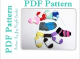 Crochet Baby Sock Pattern
