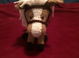 Crocheted Amigurumi Horse