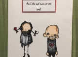 Funny Sibling Card