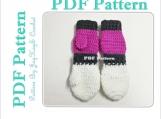 Toddler Mittens Crochet Pattern Baby Crochet Pattern