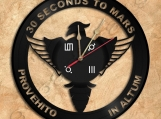 30 Seconds to Mars Wall Clock Vinyl Record Clock Free Shipping